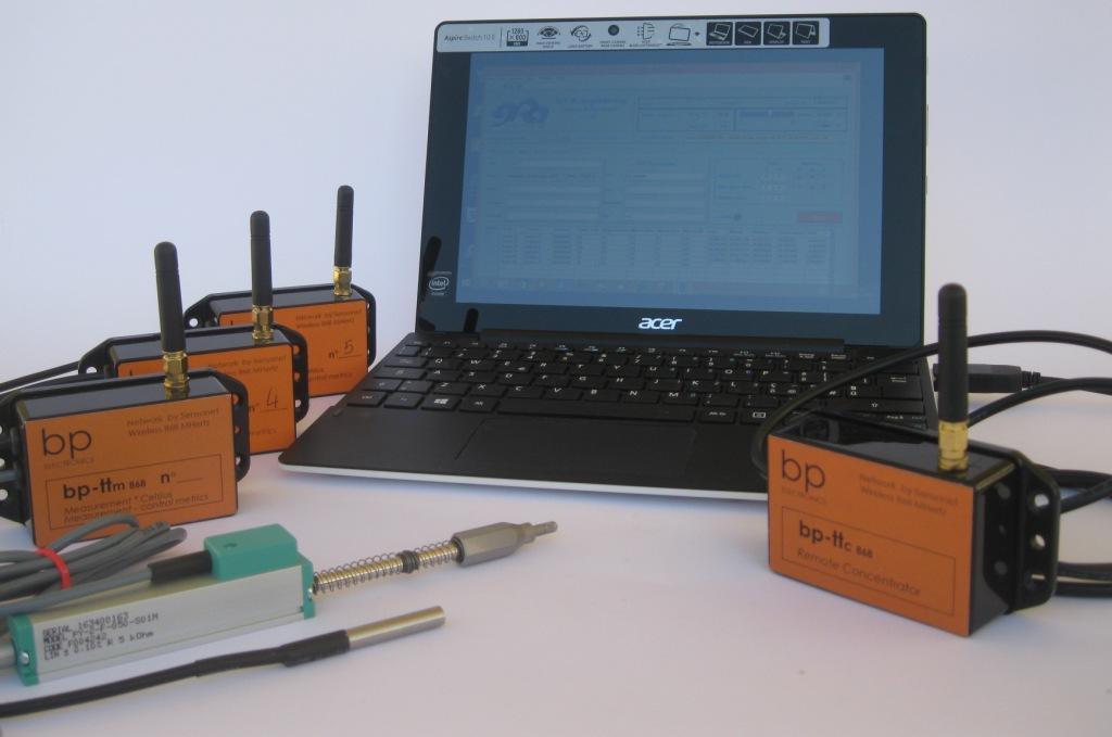 sistema monitoraggio wirekless